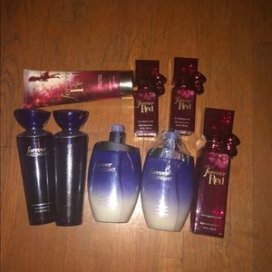 Bath and body works Forever red/midnight bundle